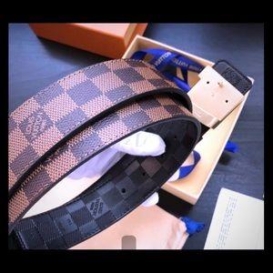 Louis Vuitton Monogram Double-Sided Belt